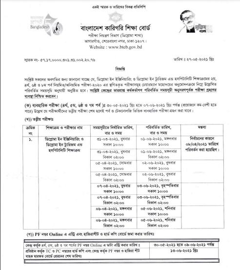 BTEB New Notice