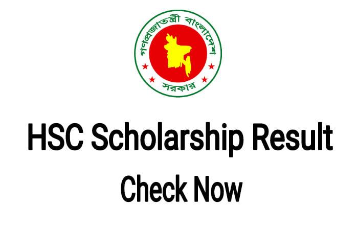 HSC Scholarship Result 2021 PDF Download [ All Education Board ]