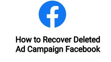 How to Recover Deleted Ad Campaign Facebook