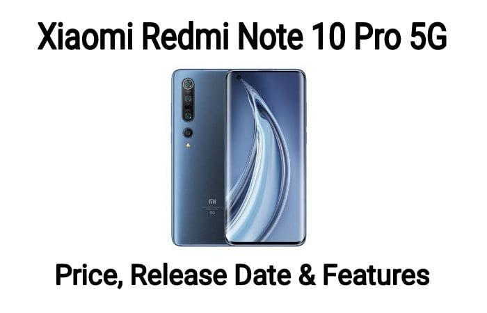 Xiaomi Redmi Note 10 Pro 5G