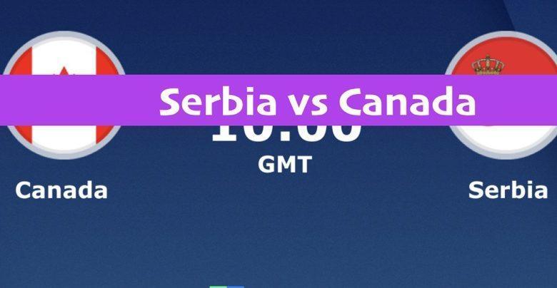 serbia vs canada